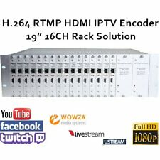 16 Channels H.264 HDMI Video Encoder for live streaming like Wowza/FMS/Youtube