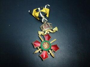 Orden Bulgarien Militärverdienstorden IV. Klasse (Ritterkreuz), Wk1, Kaiserreich