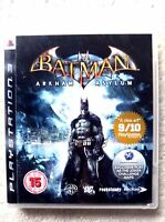 73759 Batman Arkham Asylum - Sony PS3 Playstation 3 (2009) BLES 00503
