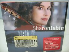 Rouse/Tan Dun CONCERTOS FOR GUITAR & ORCHESTRA, Sharon Isbin, Live, Teldec NEW
