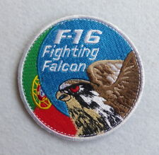 Portuguese AIR FORCE F-16 FIGHTING FALCON patch