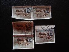ETIOPIA - francobollo yvert e aria tellier n° 91 x5 obliterati (A6) stamp