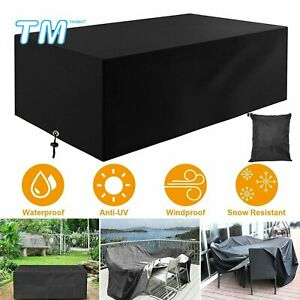 Garden Patio Furniture Cover Chair Table Covers Rectangular Outdoor Waterproof