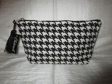 Kosmetik Tasche Accessoires Kulturbeutel Schwarz Weiß klein
