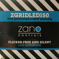 ZANO LED GRID DIMMER # FLICKER FREE # LED SILENT GRID MODULE 0-150W ZGRIDLED150
