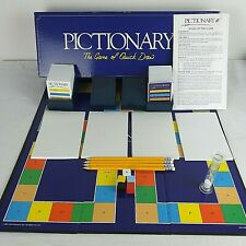 Pictionary Family Drawing Board Game 2002 100% Complete Boxed with Instructions