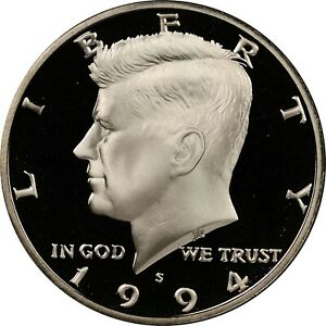 1994 S 50¢ Kennedy Half Dollar GEM PROOF !!