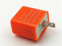 DC 12V 2 Pin Motorcycle LED Turn Signal Blinker Indicator Flasher Relay Custom