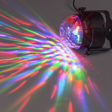 NGS USB Party Lights, Spectra Rave, Mini Disco Ball, 3 LEDs Red, Green + Blue