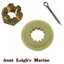 Propeller Prop Nut Kit Spacer,Nut,Pin Johnson Evinrude 40-140 HP 18-3716 175267