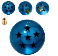 Blue 6 Star Dragon ball Z Shift Knob FOR MAZDA MITSUBISHI NISSAN (M10x1.25)