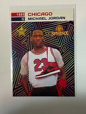 MICHAEL JORDAN 1985 Nike Air Shoe Prism Promo Rookie 🔥1000 SP FLEER 1986 GEM 10