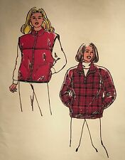 NEW/VINTAGE 1997 'KWICK SEW' VEST & JACKET SEWING PATTERN 2638 SIZES XS-XL