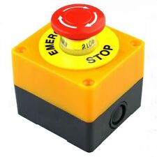 Emergency Push Button NO+NC AC660V/10A LAY37-11ZS Mushroom Cap Stop Switch