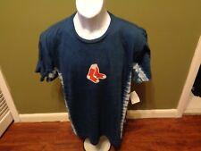 WOMENS  Boston Red Sox Majestic Tie Dye T-Shirt SIZE LARGE