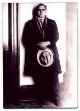 Al Capone Mafia Crime Boss  - METAL trading card  - Scarface - Alcatraz Prisoner