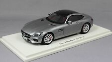 Spark Mercedes-Benz AMG GT in Silver Grey Metallic 2015 S4906 1/43 NEW