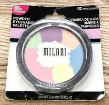 Milani #02 IMPRESSIONIST Powder Eyeshadow Palette NEW