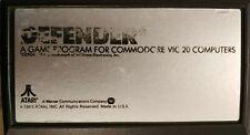 Defender (1983) VC20 Commodore 20 Modul Cartridge works (Atari Games)
