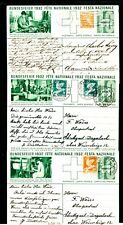 Schweiz  1932  Bundesfeier, 3 verschiedene GSK  (#6200)