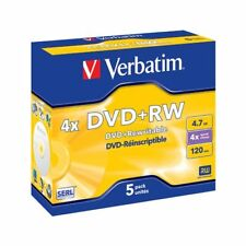 Verbatim 43229 - DVD RW 5pcs 4.7gb 4x Jewel Case