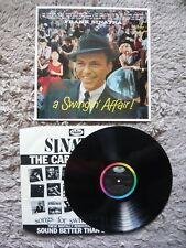 Frank Sinatra A Swingin' Affair Vinyl UK The Capitol Years 1984 Remaster LP NM