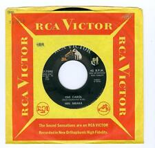 Neil Sedaka OH CAROL / ONE WAY TICKET 45rpm RCA Victor  7595  1959