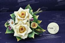 Bouquet con rose - Capodimonte Porcellane Carusio