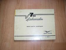 ORIGINAL MOTO GUZZI SPARE PARTS CATALOGUE V7  750 AMBASSADOR