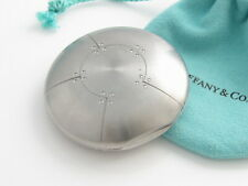 Tiffany & Co Stainless Steel Streamerica Pill Box Holder