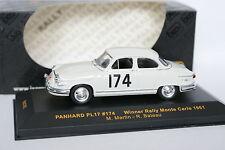 Ixo 1/43 - Panhard PL17 Winner Monte Carlo 1961