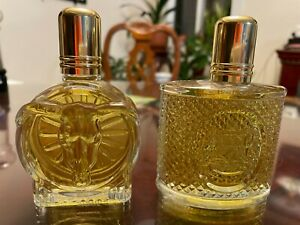 Lot Of 2 Vintage Stetson Cologne & After Shave 2.25 oz each Full without Box