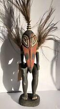 Papua New Guinea Vintage Statue Tribal Hunting Charm Figure Keram East Sepik