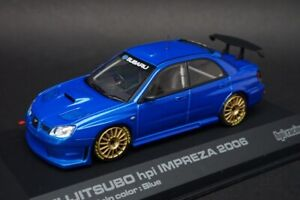 1:43 HPI 949 Subaru Barnacle Impreza 2006 Limited Color Blue