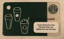 Starbucks 2009 Green Mini Keychain Card 6054