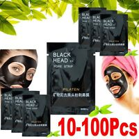 10-100-PILATEN BLACKHELD-REMOVER- Face Mask Pore Cleansing Black Head Strip JS