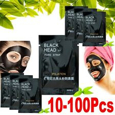 10-100 PILATEN BLACKHEAD REMOVER Face Mask Pore Cleansing Black Head Strip OP
