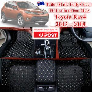 3D Shape Customized Waterproof Car Floor Mats for Toyota Rav4 2012 - 2017