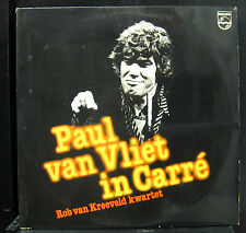 Paul Van Vliet, Rob Van Kreeveld Kwartet - In Carré 2 LP VG+ Netherlands Record
