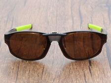 Polarized Clip On Sunglasses for Crosslink Strike OX8048 56-18-143 Brown
