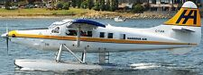 DHC-3 Otter De Havilland Canada Airplane DHC3 Mahogany Wood Model Small