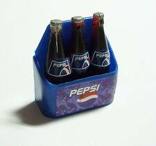 """PEPSI Bottle Limited Edition FRIDGE MAGNET Novelty Blue 3 bottles 1.5"""" tall"""