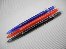 Black & Blue& Red PILOT FRIXION/ERASER ball slim 0.38mm roller ball pen