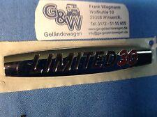 Mercedes G Klasse G-Modell LIMETED 30 Emblem Symbolschild 461 Aufkleber Badges