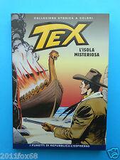 bd tex n. 99 collezione storica a colori l'isola misteriosa fumetti repubblica