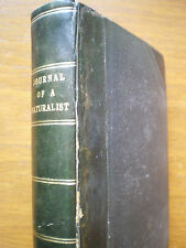 1830~JOURNAL OF A NATURALIST~KNAPP~FINE LEATHER BINDING~BIRDS/INSECTS~ENGRAVINGS
