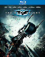 The Dark Knight-Warner-(Blu-ray Disc 3-Disc Set)-Christian Bale-Heath Ledger