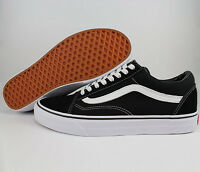 2016 VAN Classic OLD SKOOL Black Low Suede Casual Canvas sneakers SK8 MENS Shoes