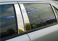 Mercedes E Class W211 2002-2009 Chrome Door Post Pillar 4Door 6pcs S.Steeel