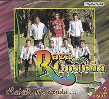 Raza Costena Caballo sin Rienda CD+DVD New Nuevo Sealed